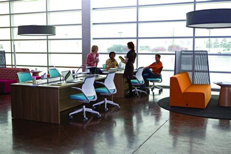 new colorful office furniture and desk design mybktouch