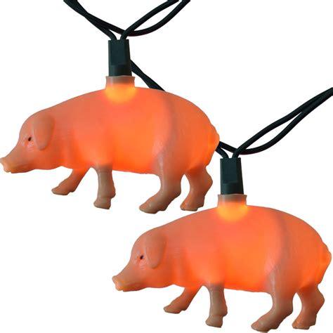 pig string lights piggies string lights