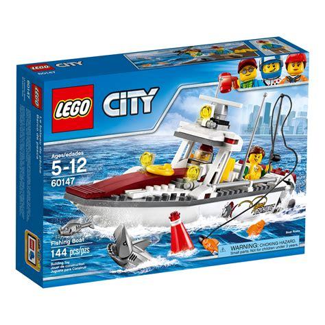 toy lego boat lego city fishing boat 60147 creative play toy