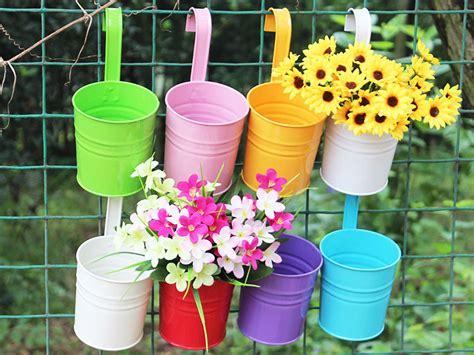 Pot Flowers Kaleng achetez en gros pots de fleurs en m 233 tal en ligne 224 des