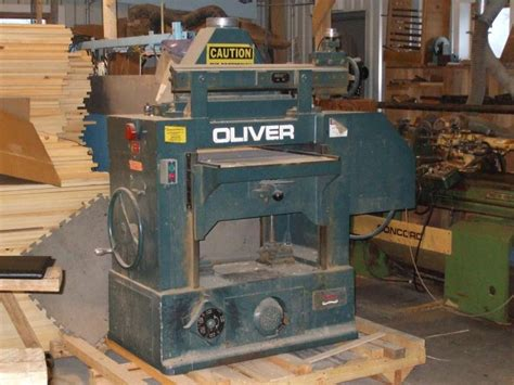 oliver woodworking tools oliver 24 quot x 8 quot planer used second surplus