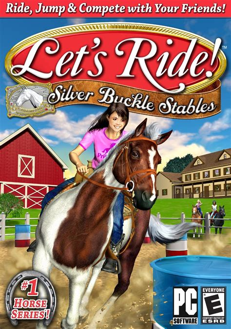 Ririn Syari let s ride silver buckle stables gamehorse