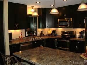 Costco Bedroom Furniture rich espresso kitchen contemporary kitchen