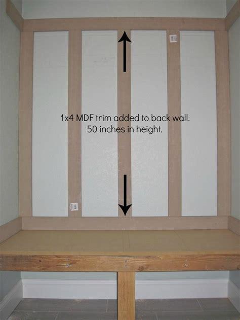 mudroom locker board  batten mudroom