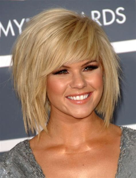 short choppy layered with bang for fine hair long face cool hairstyle 2014 choppy layered side fringe
