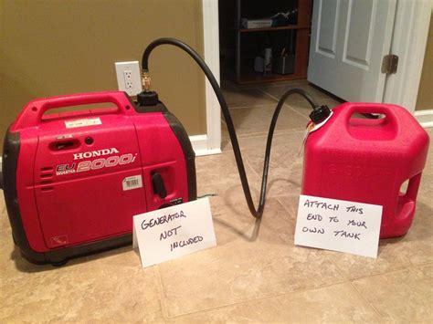boat gas tank dipstick extended fuel kit for honda generator use your 5 g tank ebay