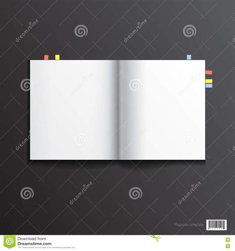 magazine pages layout design vector magazine template design pages layout stock vector