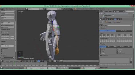 tutorial rigify blender tutorial blender poner huesos rigging con rigify parte 1 2