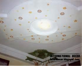 5 modern room gypsum ceilings designs