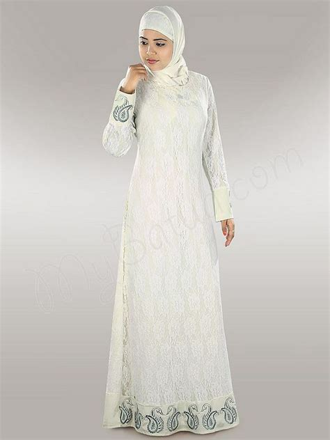 White Tunic Blouse Muslim Embroidery 127 best images about style islamique on