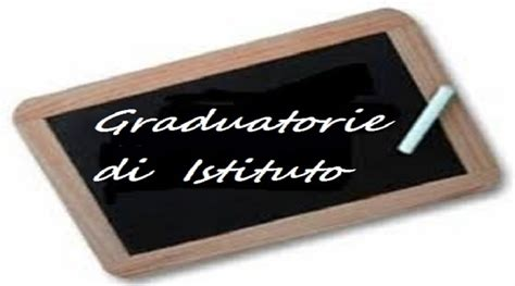 graduatorie interne decreto pubblicazione graduatorie interne di istituto