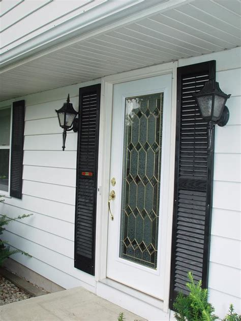 Front Door Website Shutters To Accent The Front Door Exterior Doors