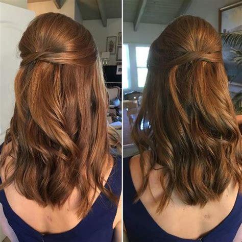 coiffure cheveux mi femme attache coloration des coiffure attache cheveux facile coloration des cheveux moderne
