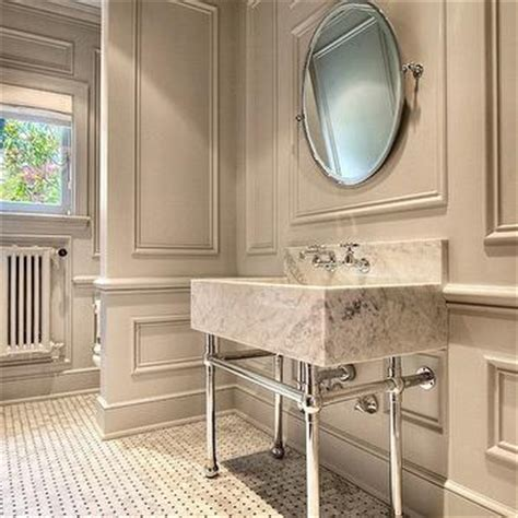 Bathroom crown molding design ideas