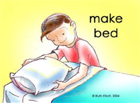 how to make up a bed pictures of good behaviors to reinforce for kids from