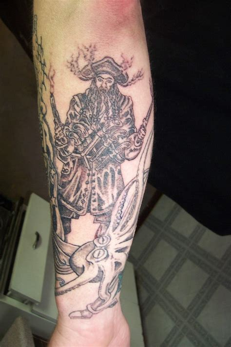 blackbeard tattoo picture