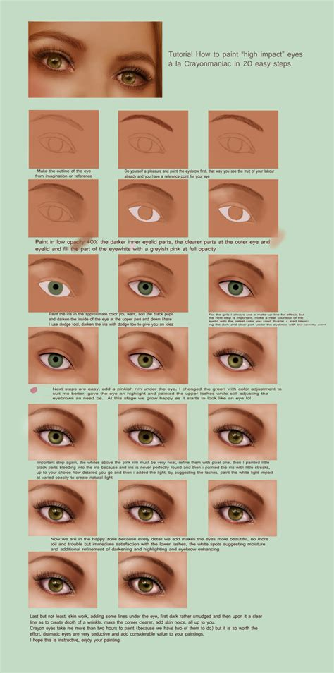 spray paint eye tutorial for your only by crayonmaniac on deviantart