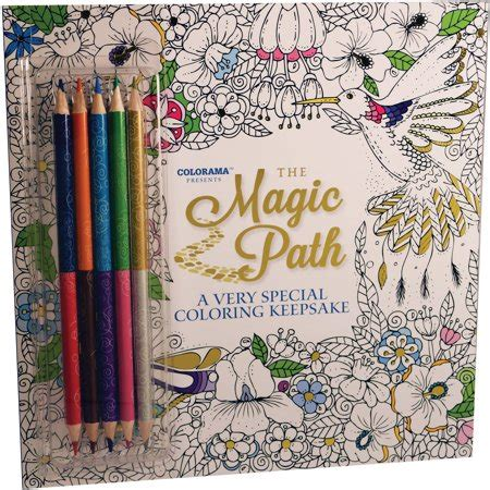 The Magic Path Coloring Book