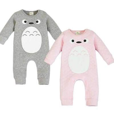 Totoro Jumpsuit ᐊ1pcs 100 169 cotton cotton totoro jumpsuit baby