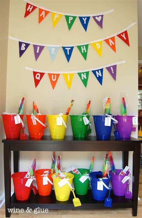 Bunting Flag Happy Birthday Banner Hbd Karakter Pony rainbow extravaganza wine glue