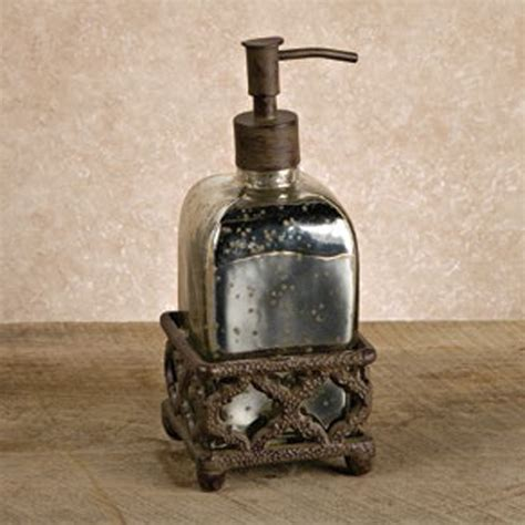 Iron Bathroom Accessories The Gg Collection Mercury Soap 92771