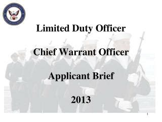 limited duty officer ldo the motivation the process the end state goal in becoming a mustang books ppt navy reserve engineering duty officer program
