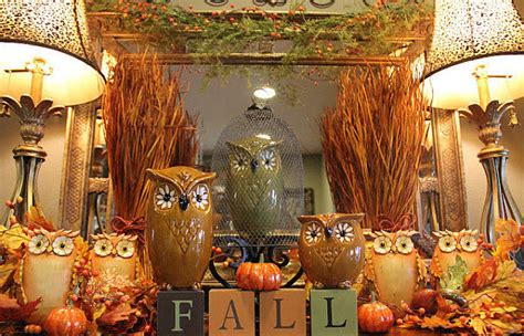 fall owl decorations fall owl decorations pictures photos and images for