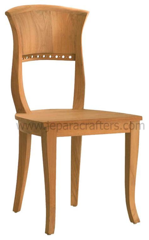 Teak Dining Chairs Indoor Teak Dining Chairs For Indoor Furniture Tropical Dining Chairs Other Metro By Jepara
