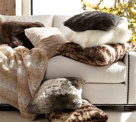 large faux fur throws for sofas silver grey faux fur throw