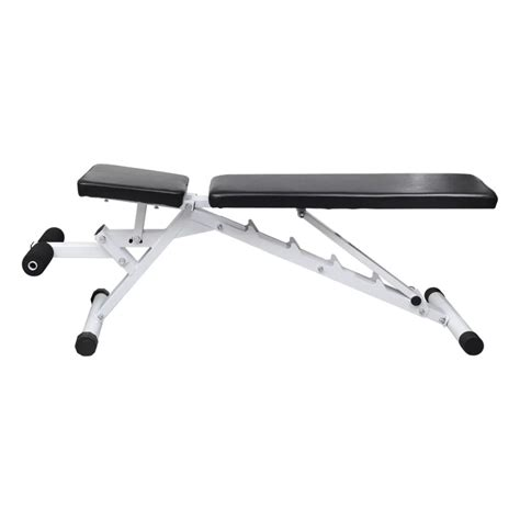 fitness adjustable bench manual fitness workout utility bench adjustable back with leg