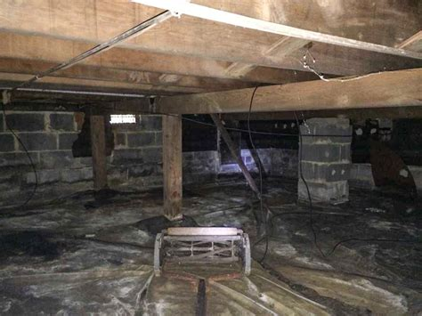 basement structural repair guys basement systems crawl space repair photo album waterproofing and structural