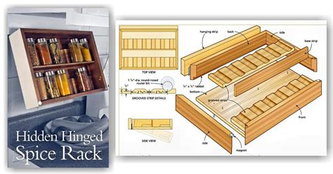 diy spice rack plans diy spice rack woodarchivist