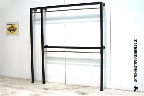 Clothes Rack Industrial by Vintage Industrial Clothes Rack
