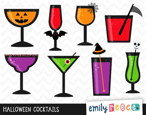 halloween martini clipart halloween drink clip art 33
