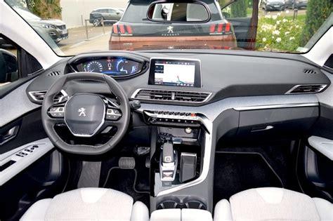 peugeot 3008 2016 interior essai peugeot 3008 1 2 puretech 130 la meilleure voiture