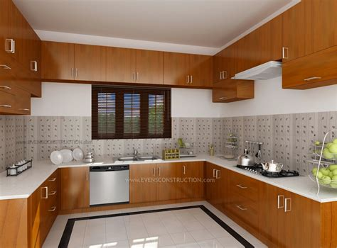 home kitchen interior design photos modular kitchen by kerala home design amazing