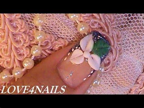 como decorar las uñas facil y rapido смотреть онлайн видео como hacer una flor facil de
