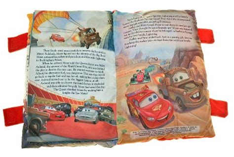 the pillow parade children s bedtime book books disney cars soft story pillow book boys plush bedtime