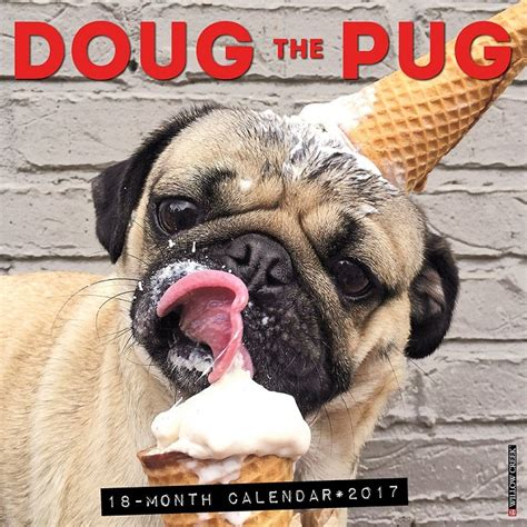 doug the pug cup themed desk accessories for punched clocks