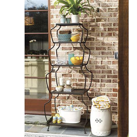 etagere 3 stöckig holz stacking vases etagere ballard designs