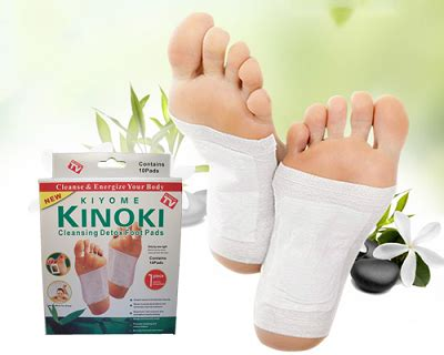 Kinoki Detox Foot Pads Directions by Kinoki Foot Detox Patches Scootprice