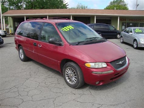 1999 Chrysler Town And Country Mpg by 1999 Chrysler Town And Country 4dr Limited Extended Mini