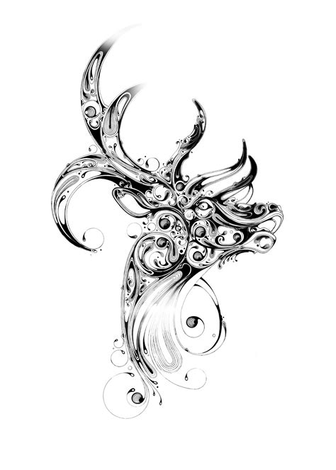 stag tattoo designs si worx shockblast