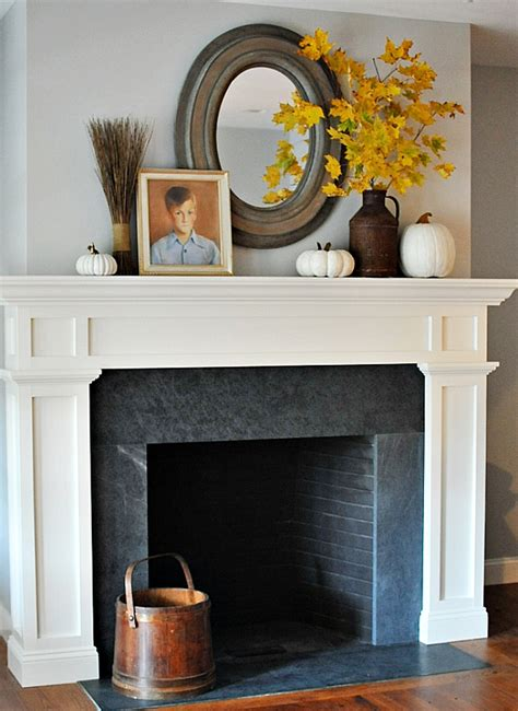 Mantle Decor by 10 Tips And Tricks For Decorating A Fall Mantle