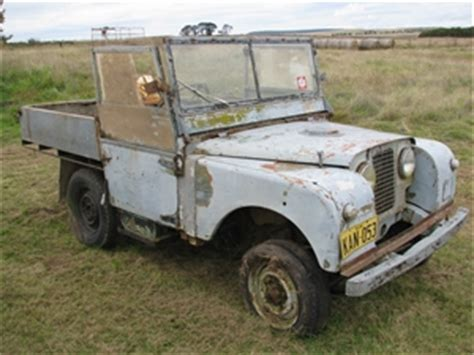 land rover series 1 circa 1950 swb parts only with 4
