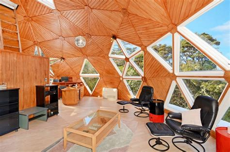 Dome Home Interior Design Dome Home A Uniquely Shaped House Put Together Like A Jigsaw Puzzle