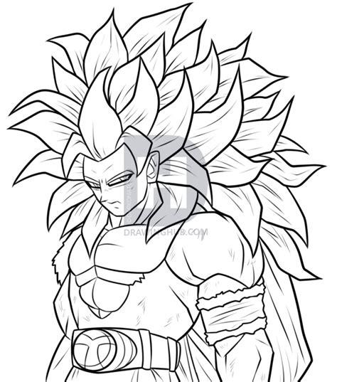 Drawing Goku by Draw Saiyan 5 Goku Step By Step Drawing Guide By