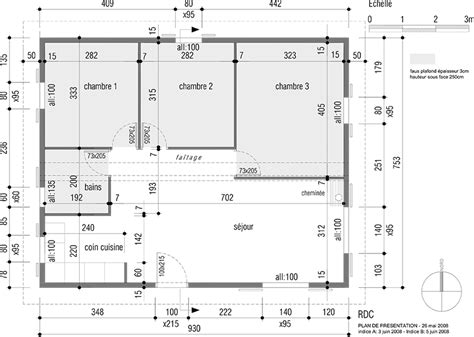 plan maison 60m2 2 chambres ideo energie