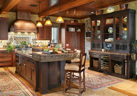mountain home kitchen design rustic mountain house rustic kitchen new york by salerno inc