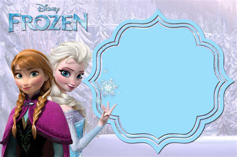 template photoshop frozen free printable frozen anna and elsa invitation templates